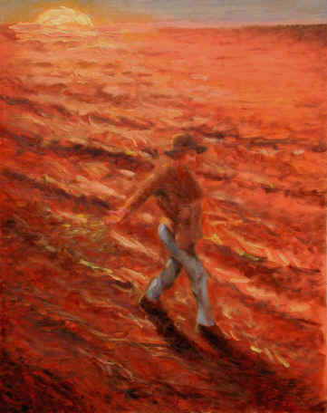 Figurative Painting--Title: Sower